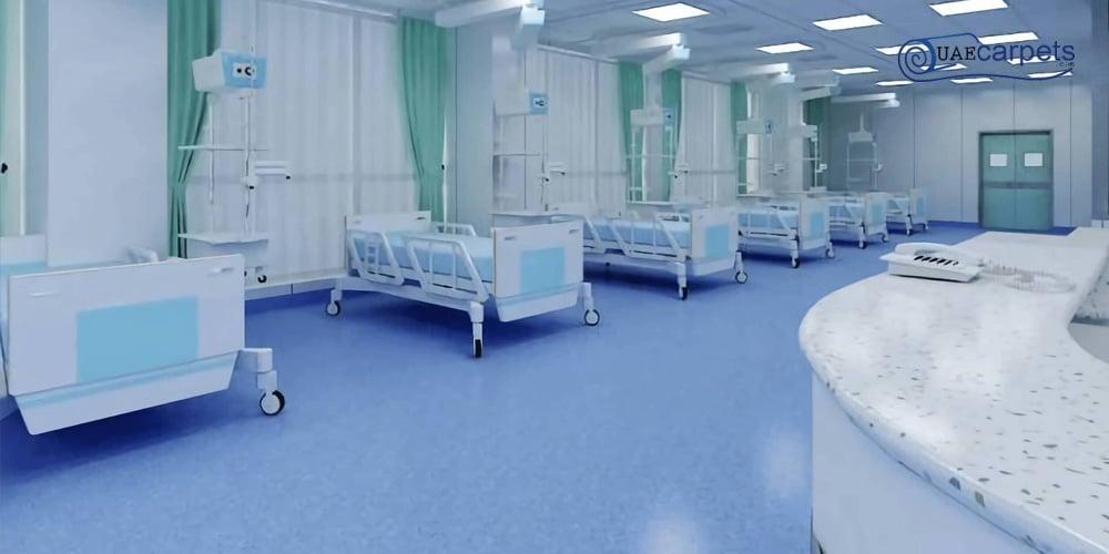 Hospitals, Laboratories & Clinic Vinyl Flooring