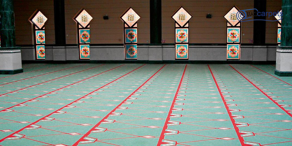 Masjid PVC Flooring