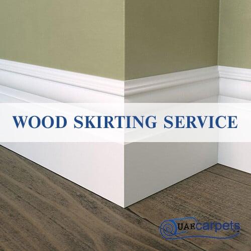Wood Skirting Service
