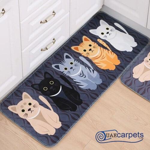 animal print doormat