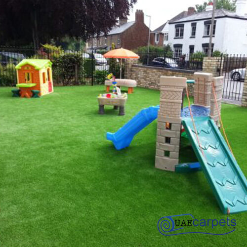 artificial grass for play area