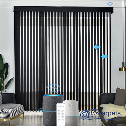 automated vertical blinds