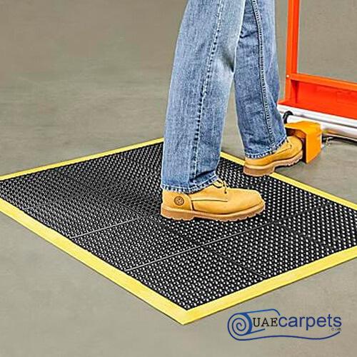 bubble top rubber stable mats