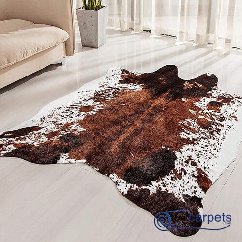 cow skin carpet