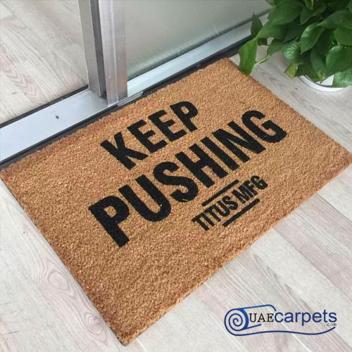 custom welcome mats