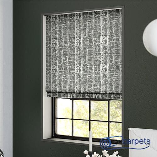 electric roman blinds
