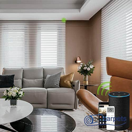 electric window blinds