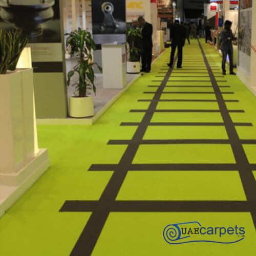 ex exhibition carpet
