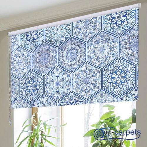 floral roller blinds