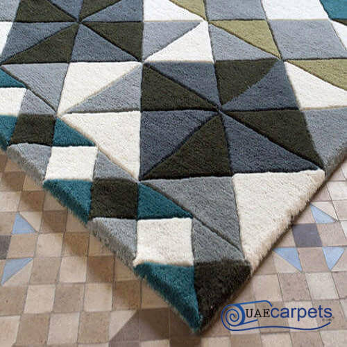 hand tufted area rug