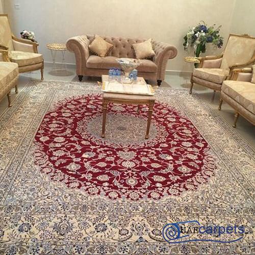 handmade silk rugs