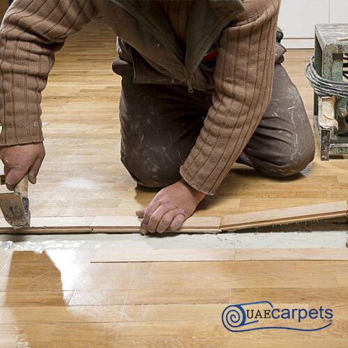 laminate flooring fixing