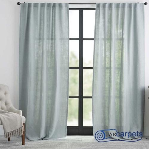 natural linen curtains