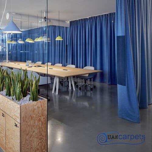 office curtain design