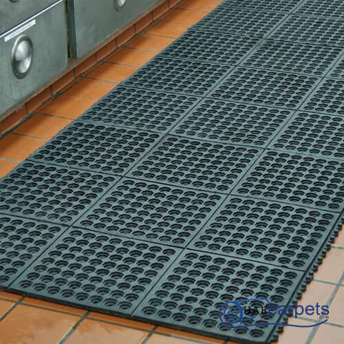outdoor rubber drainage mats