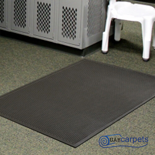 rubber and coir scraper door mat
