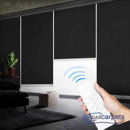 smart blackout blinds