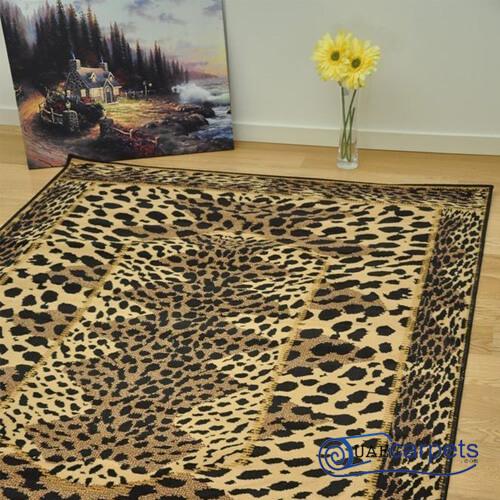 tiger hide rug