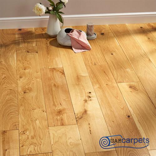 unfinished oak flooring
