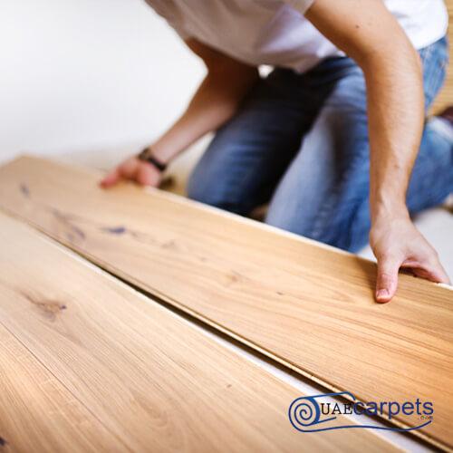 wooden flooring fixing