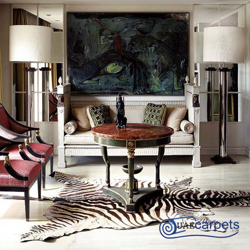 zebra hide for sale