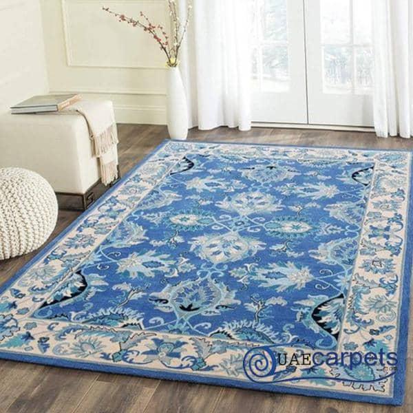 Hand Tufted Blue Carpets