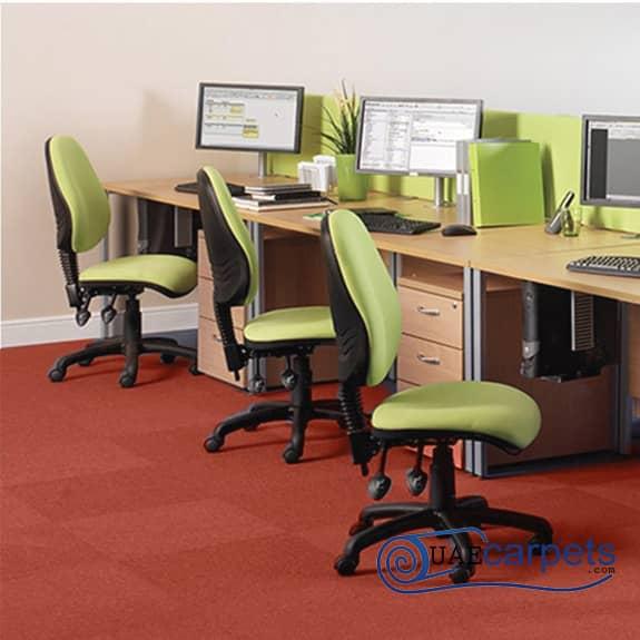 Office-Red-Carpet-Tiles