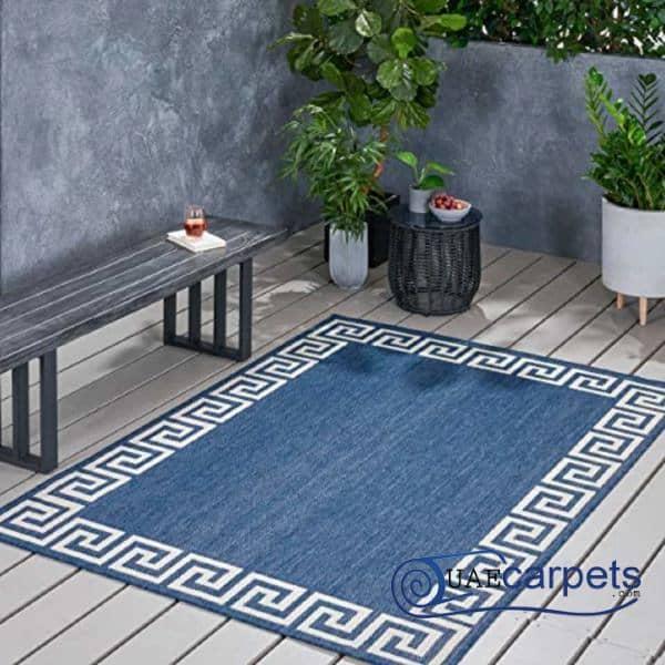 Outdoor Blue Carpets