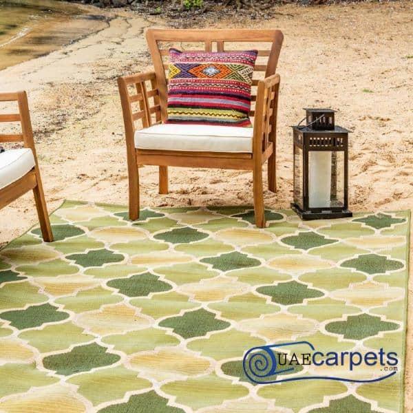 Outdoor Green Carpets