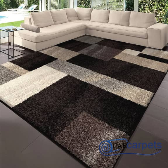 Patch-Work-Brown-Rugs