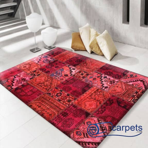 Patch-Work-Red-Rugs