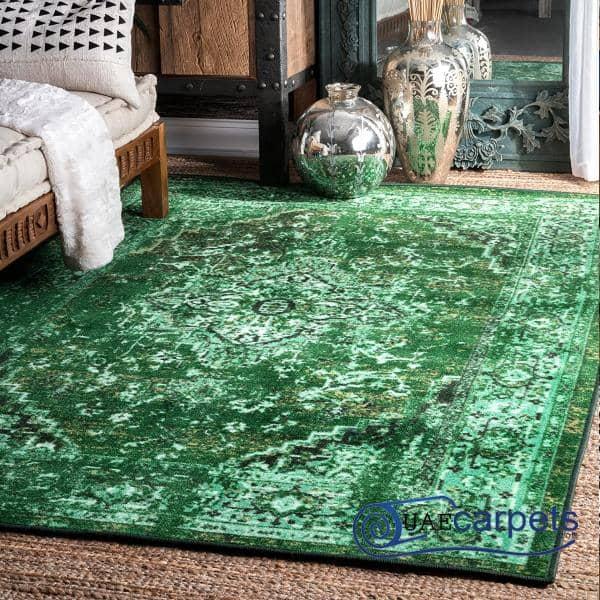 Persian Green Carpets