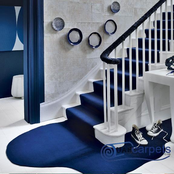 Stair Blue Carpets
