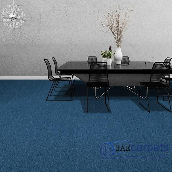 Wall to Wall Blue Carpets