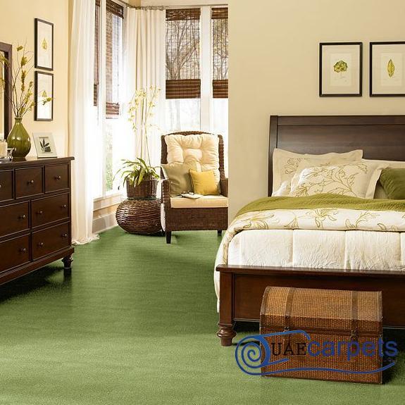 Wall to Wall Green Carpets